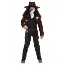 Deluxe Dark Spirit Western Cowgirl Costume,