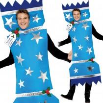 Christmas Cracker Costume Blue