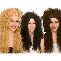 Curly Wigs (Fancy Dress)