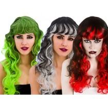 Curly Halloween Wig