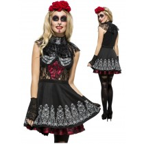 Day Of The Dead Dress Outfit