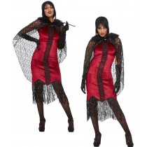 Deluxe Vampire Flapper Costume