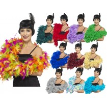 Deluxe Feather Boas Multi