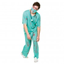 Adult Deceased Doctor Costume