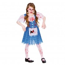 Zombie Country Girl Fancy Dress