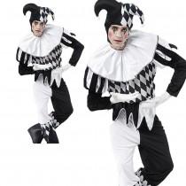 Harlequin Jester Clown