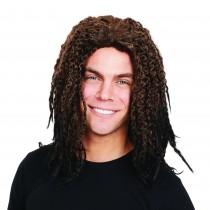 Dreadlock Unisex Brown Wig