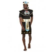 Egyptian King Costume, Black