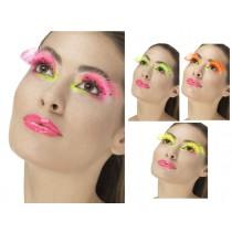 Neon Eyelashes Polka Dots