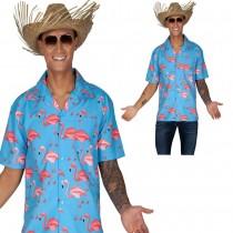 Hawaiian Shirt Flamingo