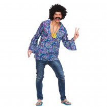 Funky Hippie Shirt (Fancy Dress)
