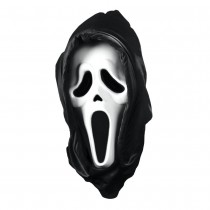 Scream Mask with Shroud