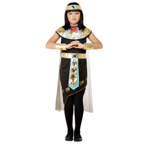 Deluxe Egyptian Princess Costume, Black