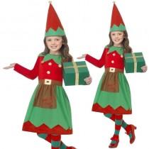 Elf Girls Santas Little Helper