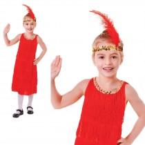 Flapper Dress Red