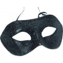 Black Glitter Gino Eyemask