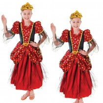 Gold Star Princess Costume