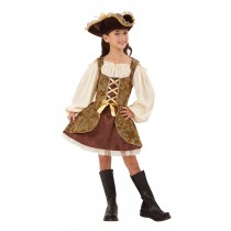 Golden Pirate Dress - Large