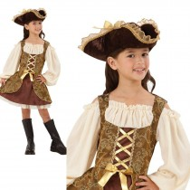 Golden Pirate Dress