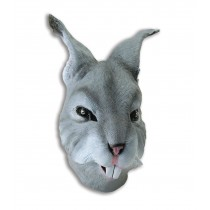 Grey Rabbit Mask