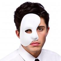 Phantom Side Mask - White (Min 12pcs)