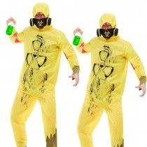 Burnt Bio Hazard Suit