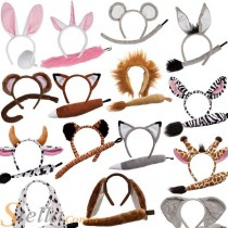 Animal Ears & Tail Set