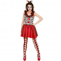 Harlequin Jester (Fancy Dress)