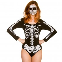 Skeleton Leotard (Fancy Dress)