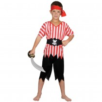 High Seas Pirate Boy Costume