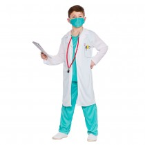 Child Hospital Scrubs Doctor Costume