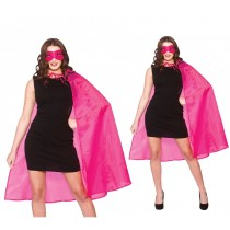 Super Hero Cape w/mask