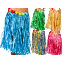 60cm Coloured Hula Skirt