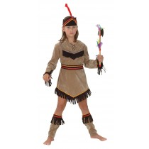 American Indian Girl Deluxe - Small
