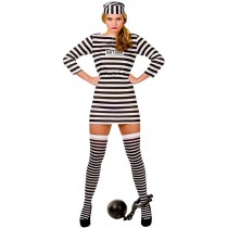 Jailbird Cutie - Budget (Fancy Dress)