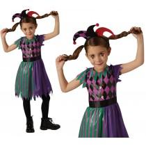 Girls Harlequin Jester