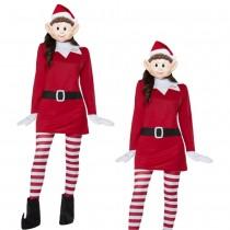 Elves Behavin' Badly Ladies Elf Costume
