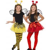 Bumble Bee & Ladybird