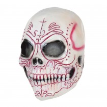 Skull Colourful (Latex) Mask