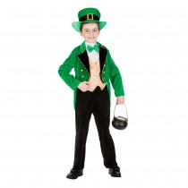 Deluxe Leprechaun Boy (Fancy Dress)