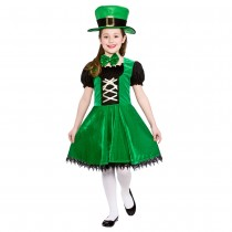 Deluxe Leprechaun Girl (Fancy Dress)