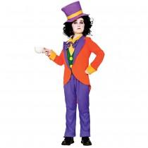 Boys Mad Hatter Costume (Fancy Dress)