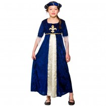 Child Medieval Regal Princess Costume