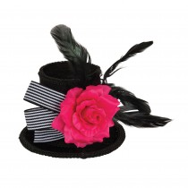 Top Hat Mini with Rose