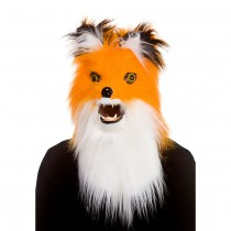 Fox Mask with Realistic Moving Mouth