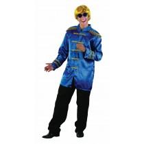 60s Musician Jacket - Blue