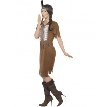 Adult Native Indian Ladies Costume