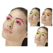 80s Neon Party False Eyelashes