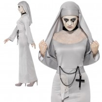 Gothic Nun Ladies Costume