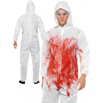 Bloody Forensic Overall Costume
